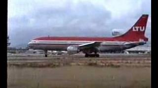 Video LTU L-1011 taking off from Faro, Portugal II download MP3, 3GP, MP4, WEBM, AVI, FLV Oktober 2018
