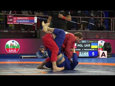 BRONZE Men's GP Gi - 66 kg: J. ANDREJCZUK (POL) v. A. YEHIAZARIAN (UKR)
