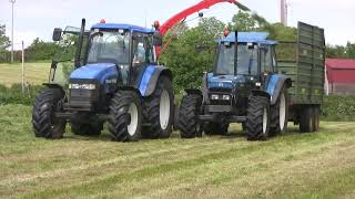 Silage in HD - Northern Ireland 2010