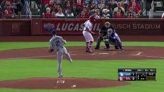 Walker Buehler 9 Ks in 8 Shutout Innings vs Cardinals | Dodgers vs Cardinals