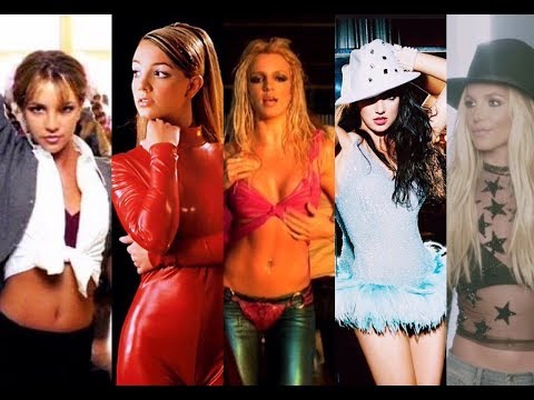 Britney Spears Evolution (1998 - 2017)