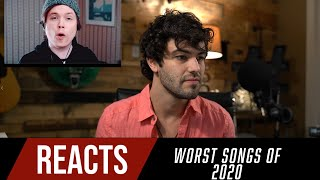 Reacting to the TOP 10 WORST SONGS of 2020 Feat. Roomie and Ajayll