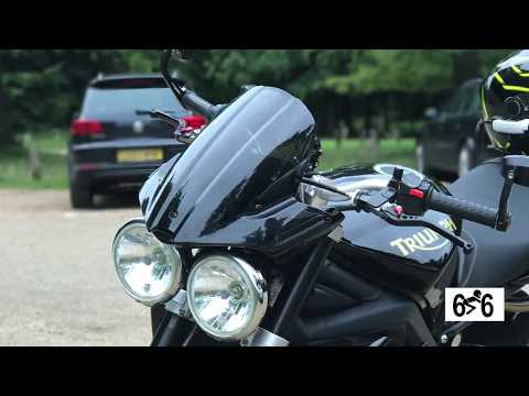 Double Bubble or Fly Screen? Triumph Street Triple