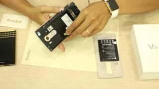 Video hướng dẫn tháo mở, sửa chữa điện thoại LG V10 cực dễ