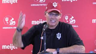 Coach TV: Tom Allen after loss at Ohio State