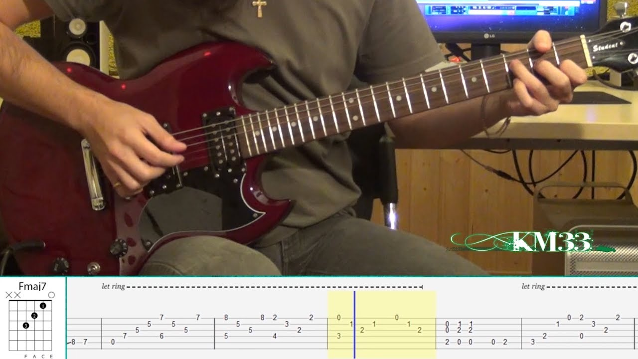 Led Zeppelin - Stairway To Heaven - Intro Riff (Guitar ...