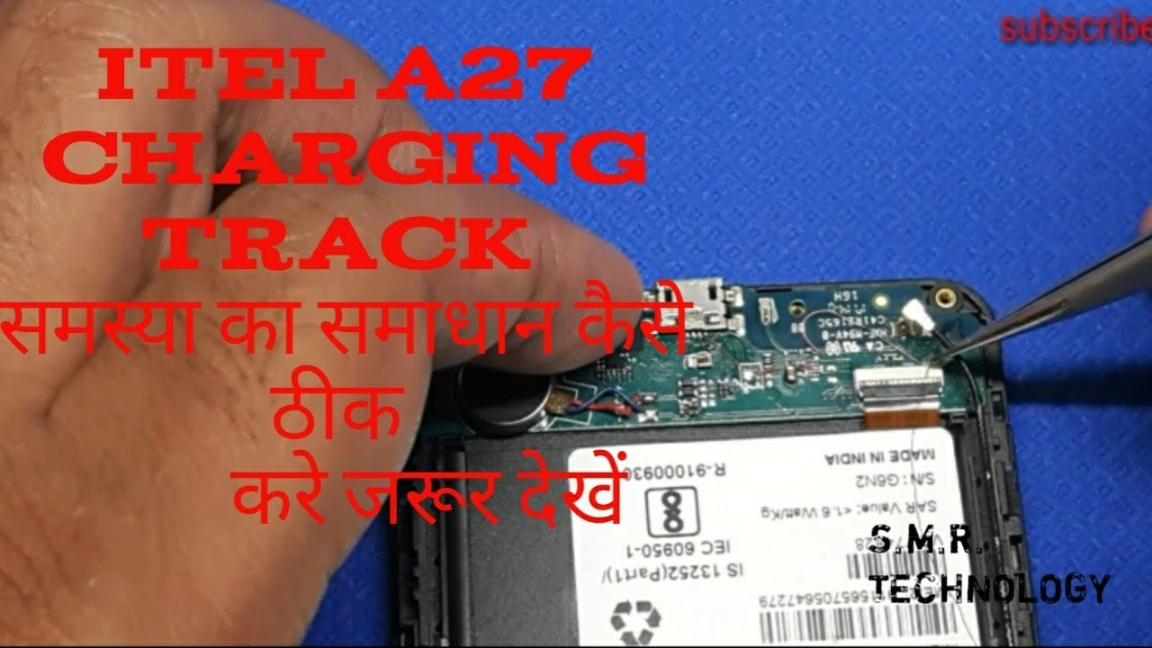 Itel A27 charging jumper solutions 100% Work - hmong video
