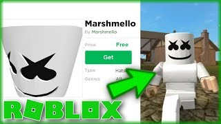 How To Get The Marshmello Head *FREE* | ROBLOX