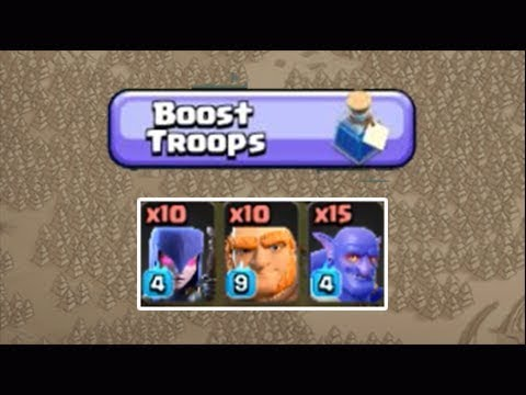 Power Potion Giant Witch Bowler TH12 3 Star Attacks Clash Of Clans