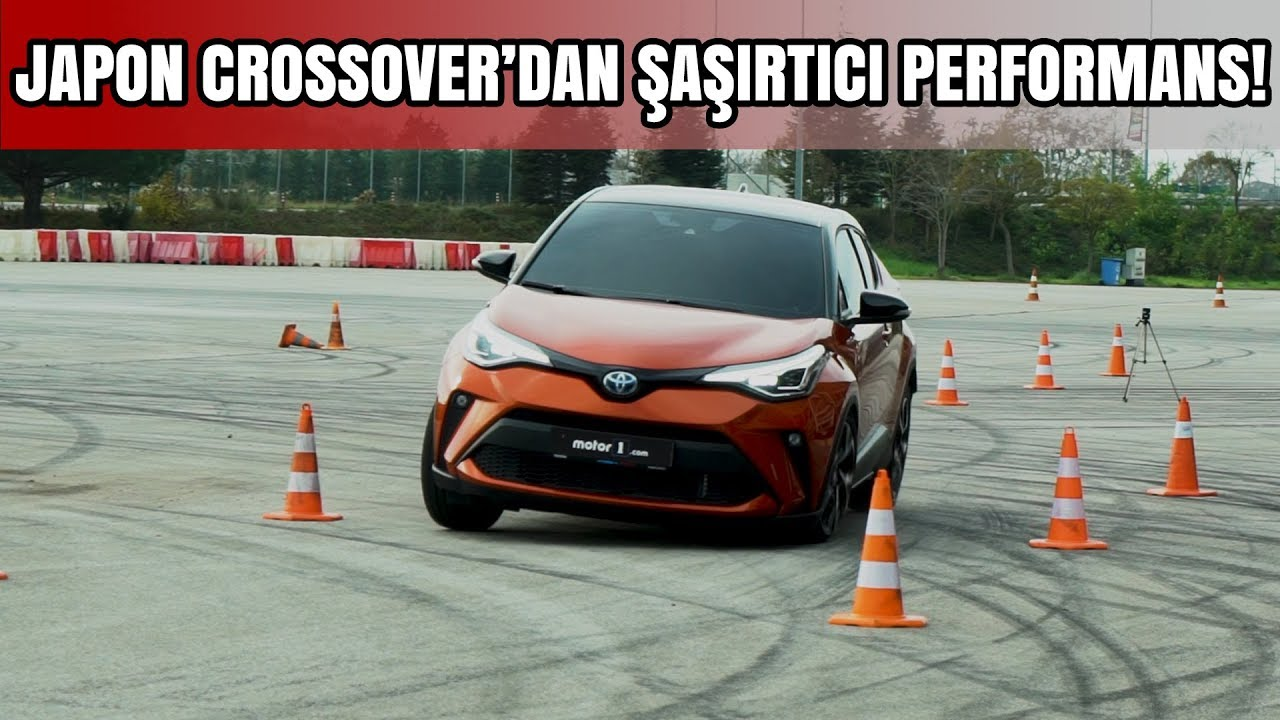 2019 Toyota C-HR Geyik Testi | JAPON CROSSOVER'DAN ŞAŞIRTICI PERFORMANS!