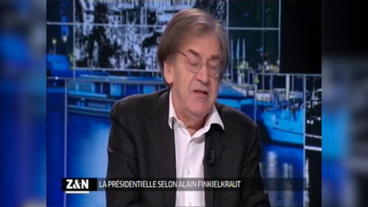 Primaire de la gauche : Finkielkraut vote Valls - YouTube