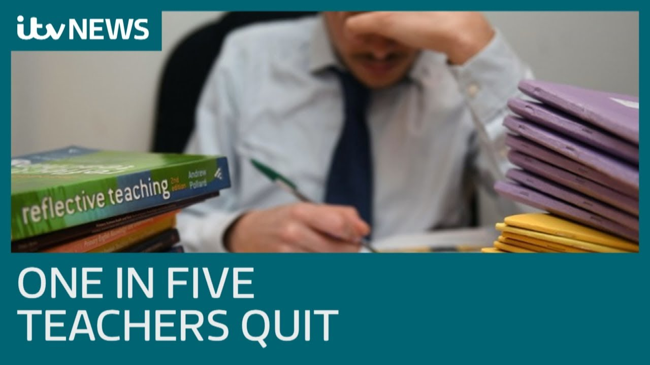 One in five teachers quitting in first five years | ITV News