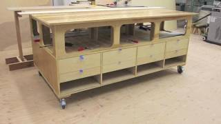 outfeed assembly table part 5 completing the project