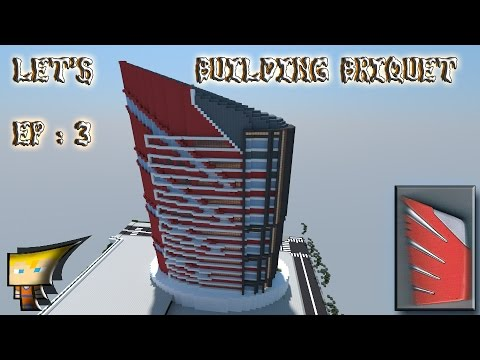 Minecraft : Let's Flint Building [ep 3]