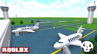 We've taken Build Airplanes with Passenger Airport-Roblox Itty Bitty Airport