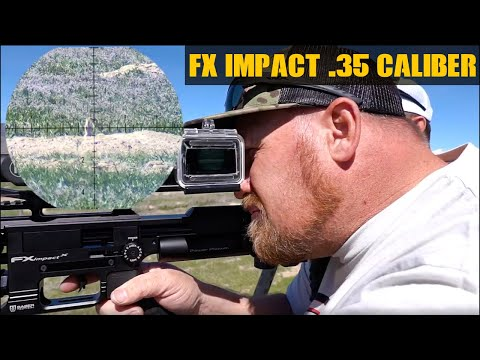 Exploding Pests With The FX Impact .35 Caliber | PCP Airgun Hunting