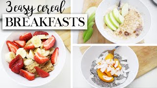 3 Easy Breakfast Ideas For Back To School - Fancy Cereal #TheAugustDaily