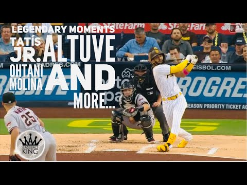 MLB || Legendary Moments Best Players in the League