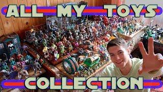 ALL MY TOYS COLLECTION | МОЯ КОЛЛЕКЦИЯ ИГРУШЕК | LEGO, MARVEL, DC, TMNT, POKEMON, POWER RANGERS