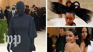 AOC, Kim Kardashian, Naomi Osaka and more shine at Met Gala