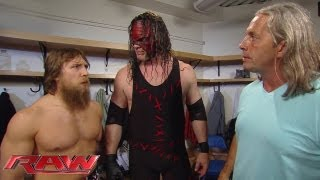 Bret Hart reassures Daniel Bryan about his toughness: Raw, May 27, 2013