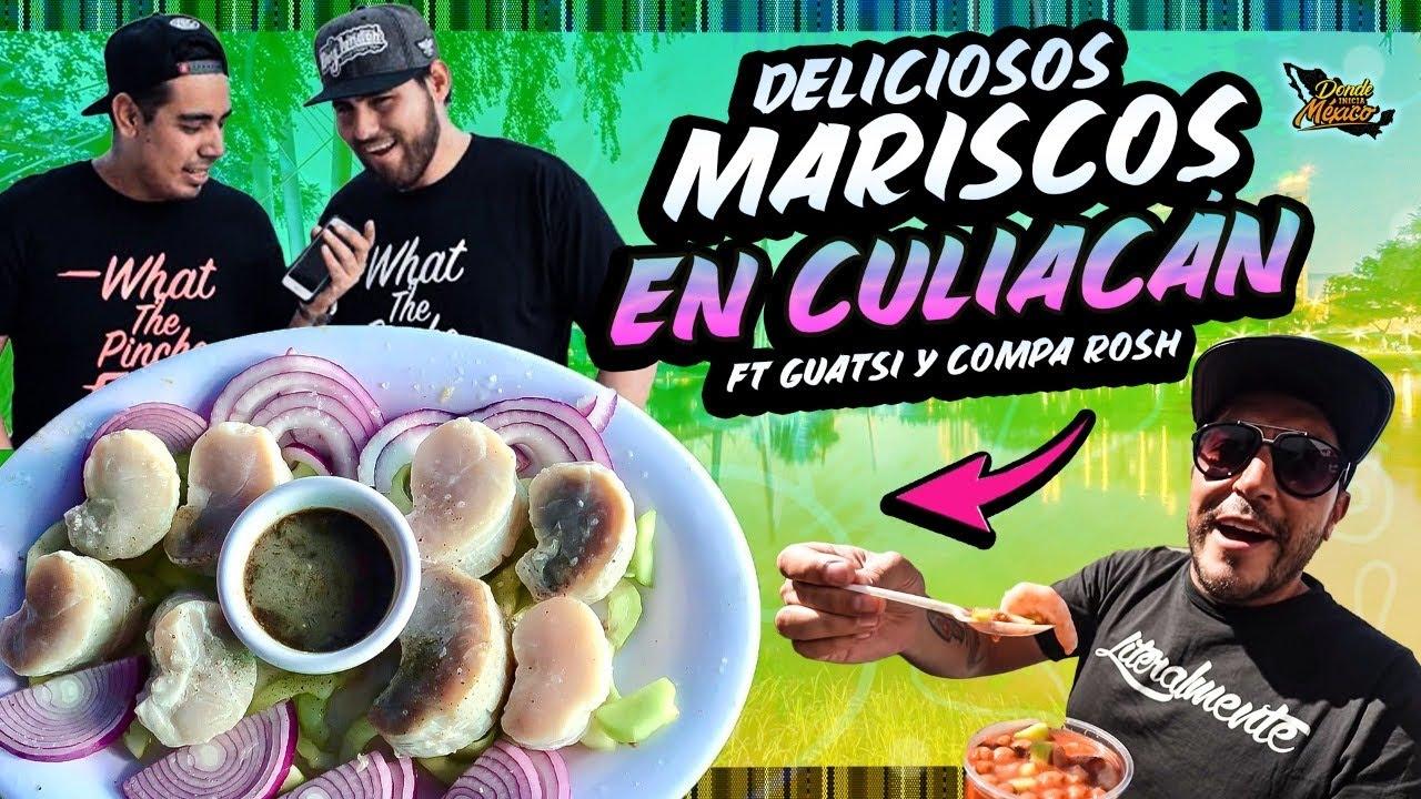 Hasta esto comen en Culiacán | Día 21 #DondeIniciaMexicoLRG @Soy Compa Rosh @Guatsi