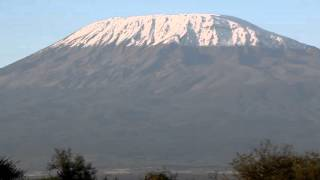 View of Mount Kilimanjaro from Tawi Lodge in Kenya