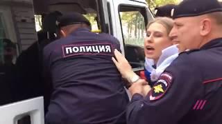 Разгон митинга у мэрии, жестокие задержания