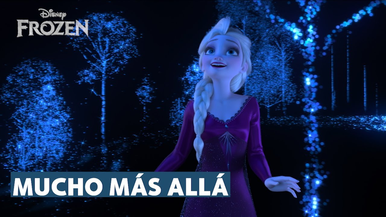 Mucho más allá | con letra | Frozen 2