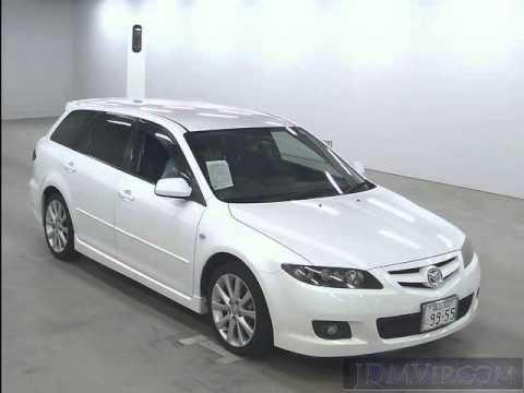 2005 Mazda Atenza Sports Wagon 23s Gy3w Youtube