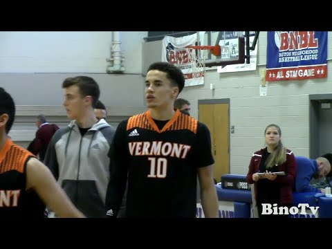 Vermont Academy's Corey Johnson 15' Harvard Commit Is A Pure Shooter