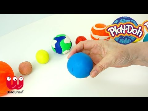 PLAY DOH | Create Uranus and learn about the Universe | Crafty Kids