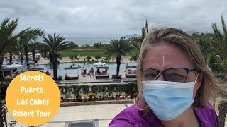 Secrets Cabo All Inclusive Resort Tour | COVID Travel