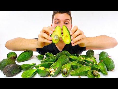Avocado Challenge • MUKBANG