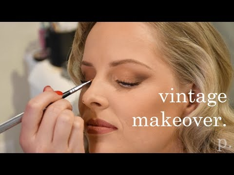 Vintage Hairstyling     A Glam Makeover at Parlour Salon