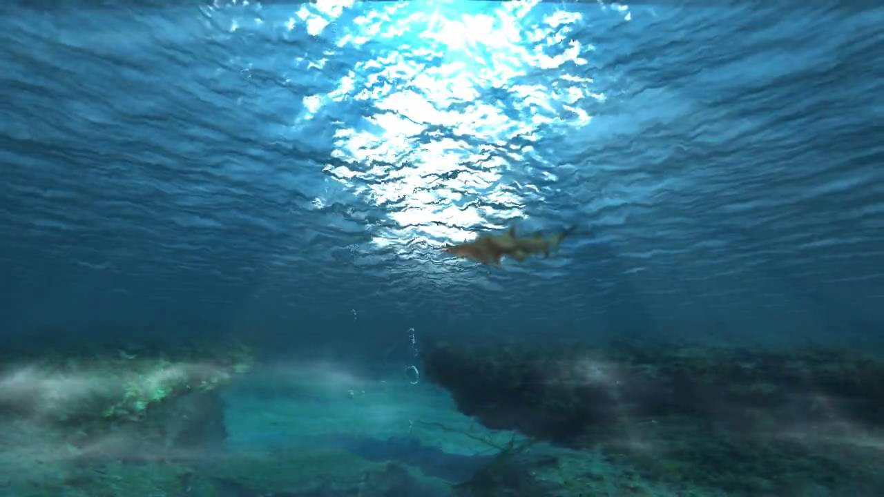 After Effects underwater scene - YouTube