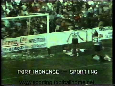 06J :: Portimonense - 0 x Sporting - 1 de 1982/1983
