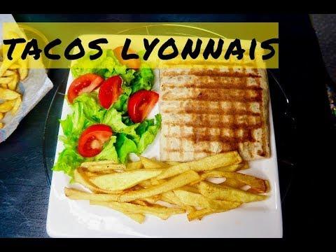 recette du tacos lyonnais avec ses 3 viandes et a sauce. Black Bedroom Furniture Sets. Home Design Ideas
