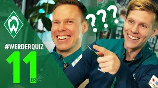 #WERDERQUIZ 11er - Aron Johannsson & Niklas Moisander | SV Werder Bremen