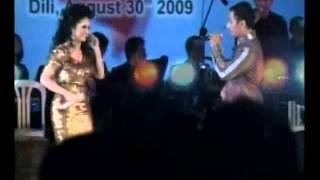 Krisdayanti nyanyi lagu Timor Leste