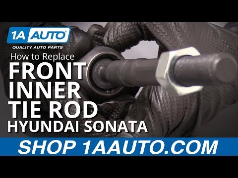 How to Replace Front Inner Tie Rod 11-13 Hyundai Sonata