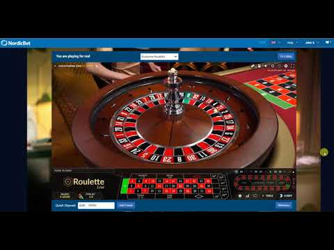 How to play at casino NordicBet Live Roulette