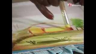 Pintura em Tecido – Paisagens