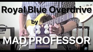 Mad Professor Royal Blue Overdrive demo by Marko Karhu