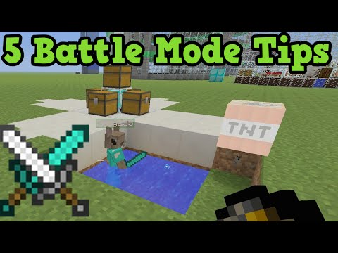 Minecraft 5 Battle Mode / Hunger Games Tips (Xbox 360 / PS3 / Wii U)