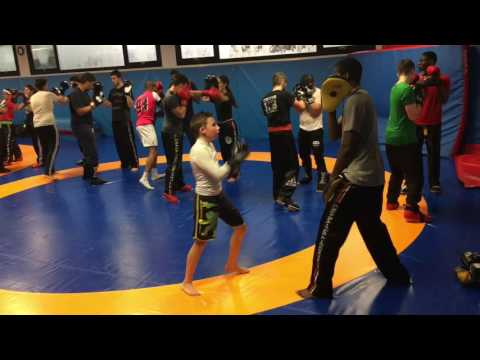 Werner P11 Ans  Training Full Contact  Aulnay  Oct 2016