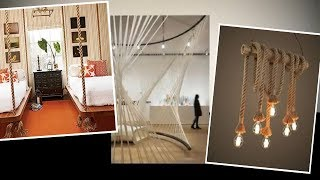 Interior Design — How To Use Rope Accessories