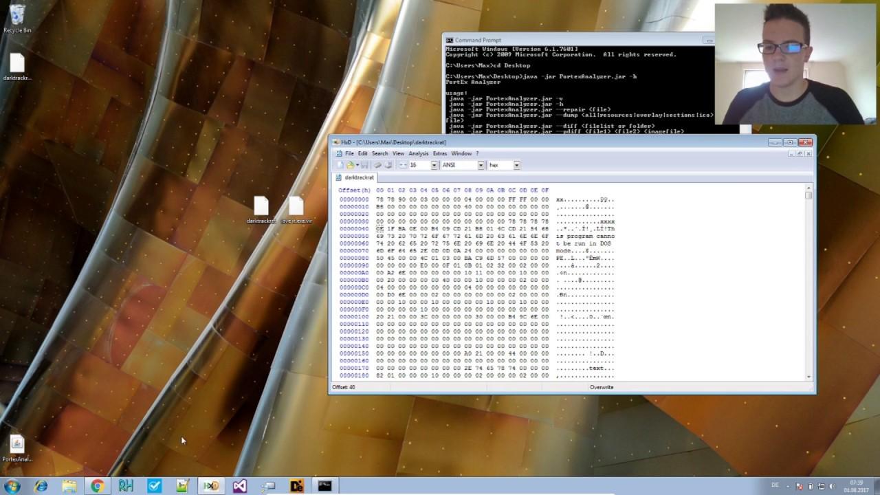 Malware Analysis - PortexAnalyzer Repair and Dump PE Files