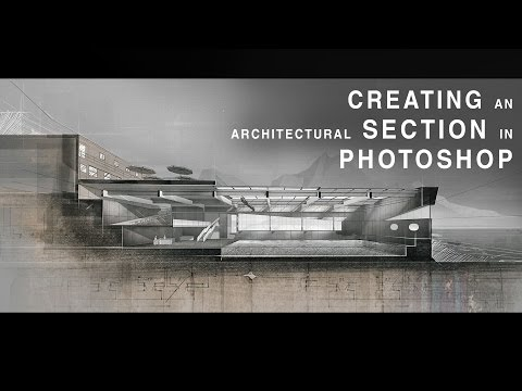 Creating an Architectural Section In Photoshop