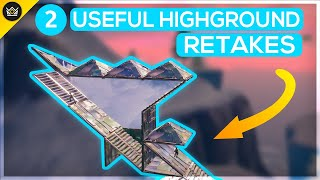 Two Useful High Ground Retakes (Creative Building Drills) Fortnite  Battle Royale
